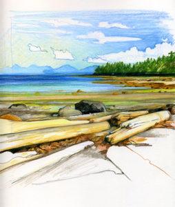 Little Tribune Bay, Hornby Island