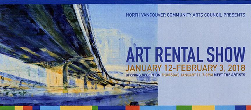 Invitation to Art Rental Show